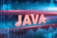 Java begrepp Arkivfoto