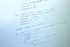 Java code Stock Images