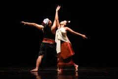 Java Dance Performance Stock Photo