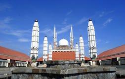 Java Grand Mosque central fotos de archivo libres de regalías