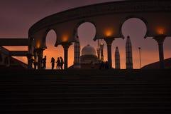 Java Grand Mosque centrale fotografia stock libera da diritti