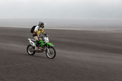 JAVA, INDONESIA - Apr 19, 2015: Tourist riding. royalty free stock photography