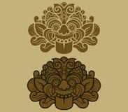 Java Kalamakara Ornament Fotografía de archivo libre de regalías