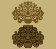Java Kalamakara Ornament Imagenes de archivo