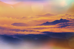 Java landskap Arkivbild