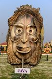 Java Mask stock photography