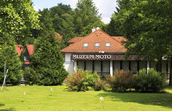 Java motorcycle museum. In the Czech Republic Stock Photography