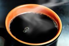 Java Steam II. Hot coffee royalty free stock photo