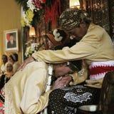 Java tradition. Wedding in Yogyakarta city Stock Image