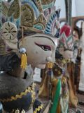 Traditional java doll royalty free stock image