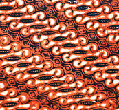 javanese батика Стоковое фото RF