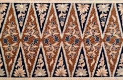 Javanese Batik Pattern Stock Photos