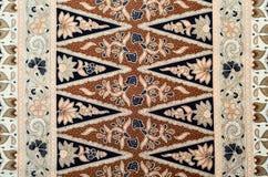 Javanese Batikpatroon stock afbeelding