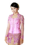Javanese blouse genoemd kebaya Stock Afbeelding