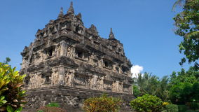 Javanese buddhist temple of candi sari Stock Photo