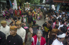 JAVANESE CHRISTIAN TRADITIONAL RITUAL Royalty Free Stock Image