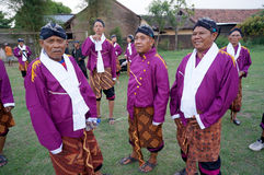 Javanese clothes Royalty Free Stock Images
