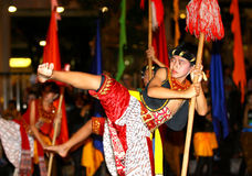 Javanese cultural performances Stock Photography