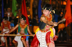 Javanese cultural performances Royalty Free Stock Images