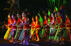 Javanese cultural performances Stock Image