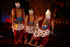 Javanese cultural performances Stock Images
