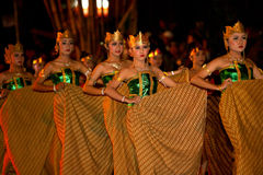 Javanese cultural performances Royalty Free Stock Photos