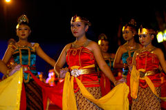 Javanese cultural performances Stock Photos