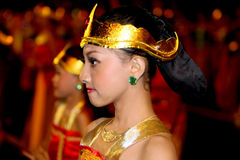 Javanese cultural performances Stock Photo