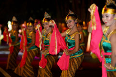 Javanese cultural performances Royalty Free Stock Photography
