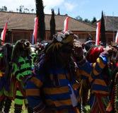 Javanese cultuur reog verschijning Royalty-vrije Stock Foto