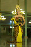 Javanese Dance Royalty Free Stock Photo