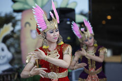 Javanese dance Royalty Free Stock Images