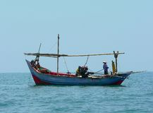 Javanese fishboat Royalty Free Stock Image