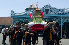 JAVANESE GAREBEG CEREMONY Royalty Free Stock Image