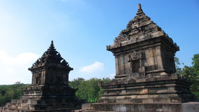 Javanese hindu temple of candi barong Royalty Free Stock Photos