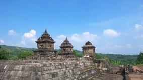 Javanese hindu temple of candi barong Royalty Free Stock Photography