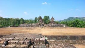 Javanese hindu temple of candi barong Royalty Free Stock Images