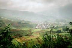 Javanese Landelijk Landschap stock foto