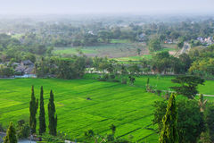 Javanese landscape 1. Picture was taken in Central Java, Indonesia stock photo