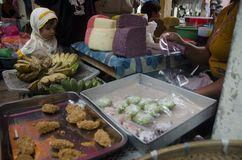 JAVANESE MARKET DAY Stock Photography