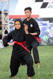 Javanese martial art Royalty Free Stock Photography