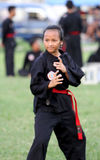 Javanese martial art Stock Photo