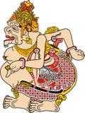 Javanese puppet called ratu semar Stock Images
