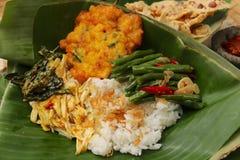 Javanese-Reis Stockbild