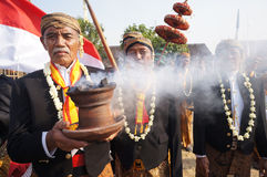 Javanese ritual ceremony Stock Images