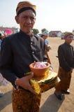 Javanese ritual ceremony Royalty Free Stock Image