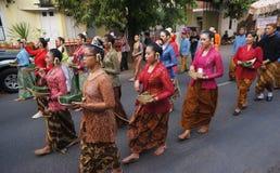 Javanese ritual ceremony Royalty Free Stock Photo