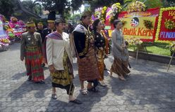 JAVANESE ROYAL WEDDING Royalty Free Stock Photos
