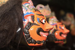 Javanese tradiional mask Royalty Free Stock Photography