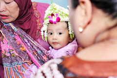 Javanese traditional celebration Stock Image